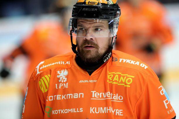 Juha-Pekka Haataja on tehnyt jo 95 ylivoimamaalia.