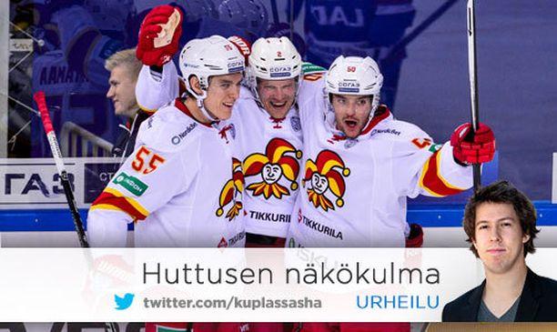 Jokereiden KHL-taival on vielä toistaiseksi ollut uutta ja ihmeellistä.
