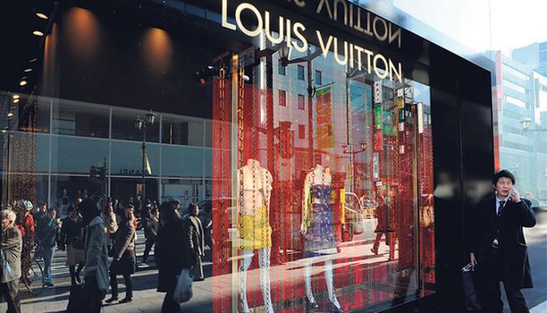 Louis Vuitton laukun voi tänä päivänä myös vuokrata.