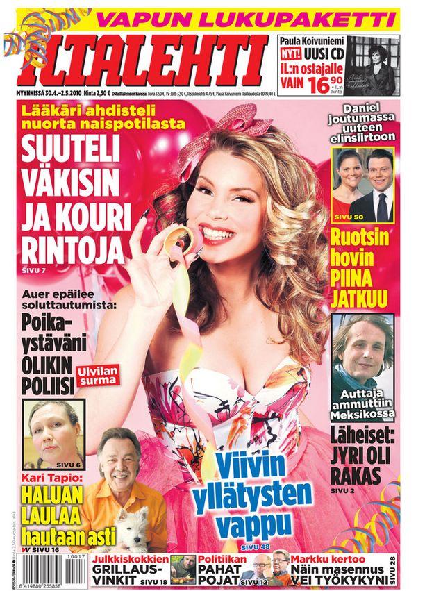 Vuosi 2010, kannessa Viivi Pumpanen.