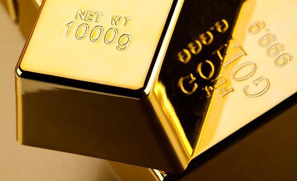 Kultaharkkoja oli yhteensä seitsemän, jokainen painoi kilon. Kuvituskuva.