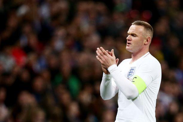 Wayne Rooney pelasi torstaina maajoukkueuransa viimeisen pelin.