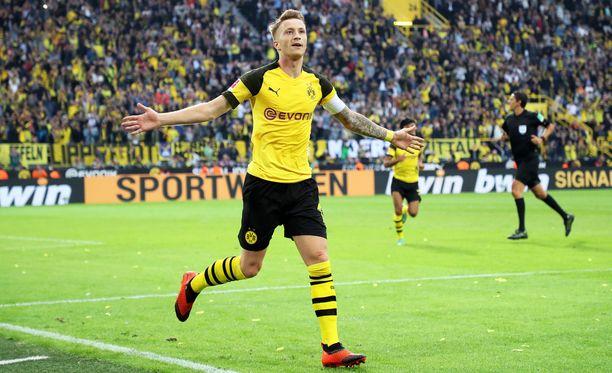 Marco Reus iski Dortmundin neljännen maalin.