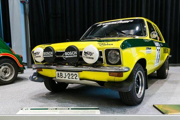 Opel Ascona A 1.9 SR vuodelta 1973.