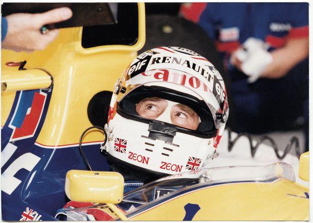 Nigel Mansell mokasi raskaalla tavalla kauden 1991 Kanadan GP:ssä.