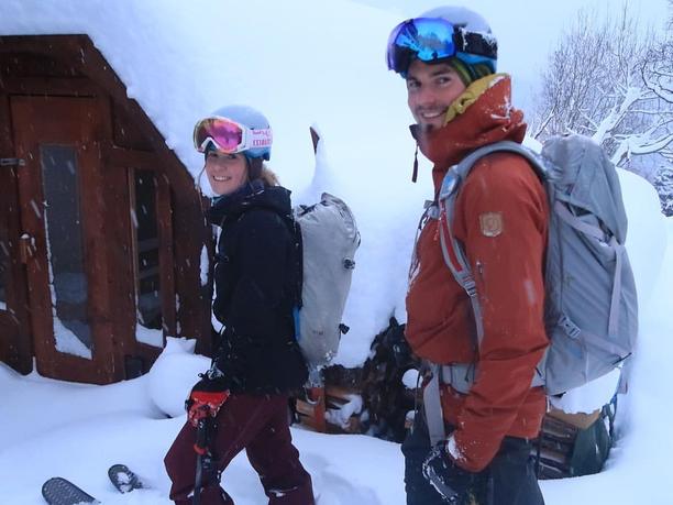 Katja Pekkala ja Fredrik Aspö.