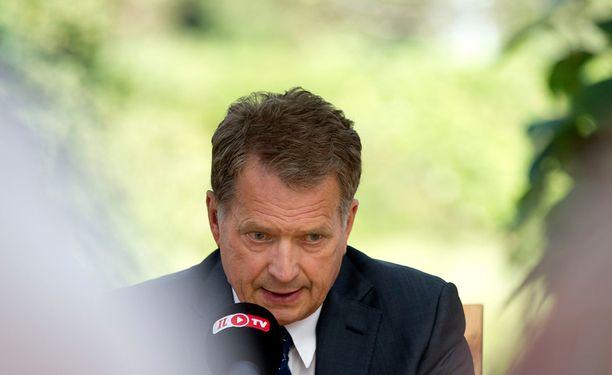Presidentti Sauli Niinistö kertoi lapsuusmuistonsa.