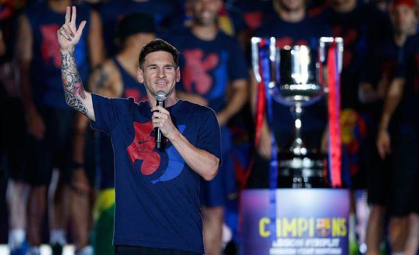 Messi juhli kesäkuun alussa Barcelonan saavuttamaa triplaa. Tällä viikolla vuorossa olivat syntymäpäiväjuhlat.