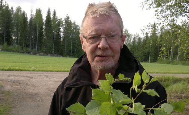 71-vuotias Seppo Kärkkäinen katosi viikonloppuna Nurmeksessa.