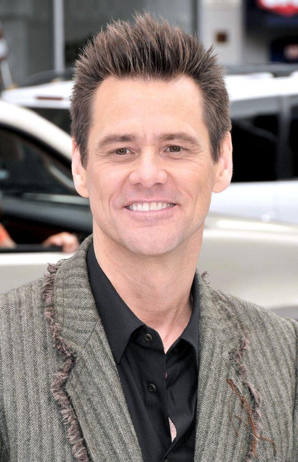 Jim Carrey on totuttu näkemään siloposkisena.