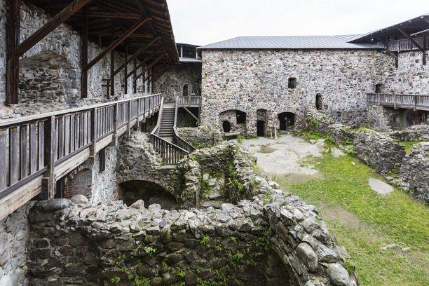 Linna oli tärkeä keskus Keskiajalla.