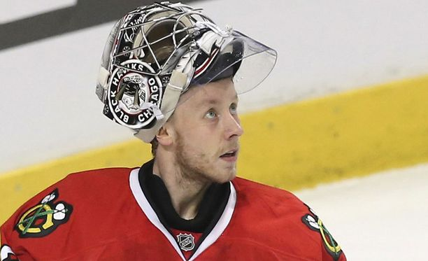 Antti Raanta kuuluu jälleen Chicagon NHL-miehistöön.