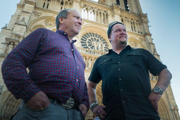 Teuvo Hakkarainen ei pitänyt Notre Damen synkistä torneista.