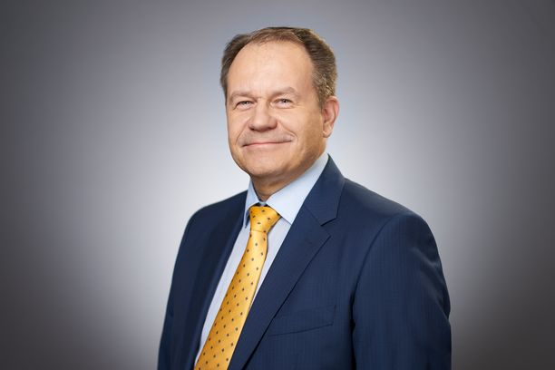 Suomen Saksan-suurlähetystön päällikön sijainen Pasi Pöysäri.