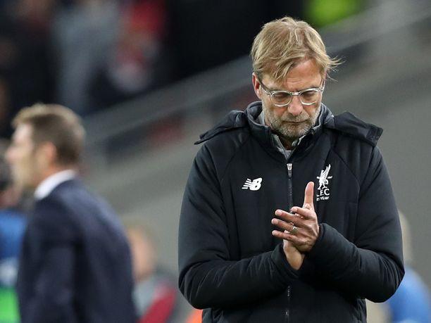 Liverpool-manageri Jürgen Kloppin odotetaan kierrättävän miehistöään maanantai-illan cup-ottelussa.