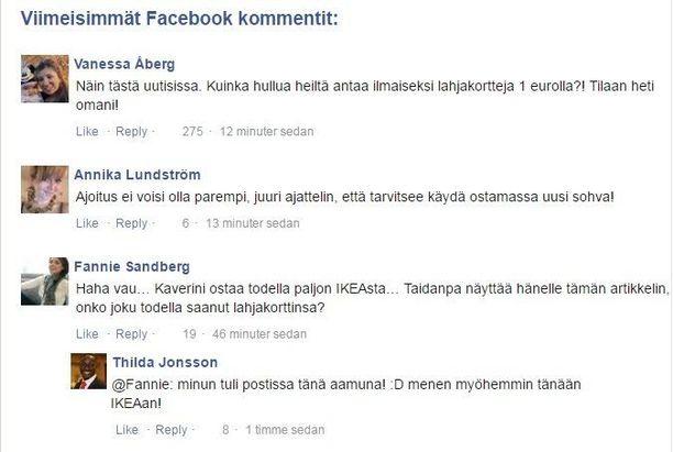"""Tekaistut hahmot kommentoivat """"uutista"""" huijauksen kohdemaasta riippuen joko suomeksi, ruotsiksi tai norjaksi. Hahmot ovat aina samat."""