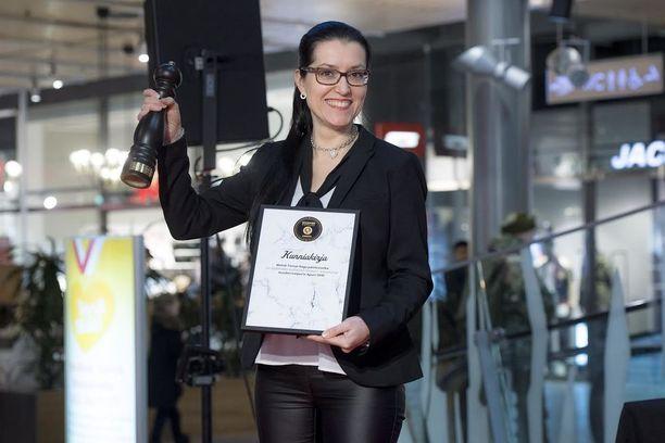 Leipurin Apuri -palkinnon voitti Metsä Tissuen SAGA Paistovuoka