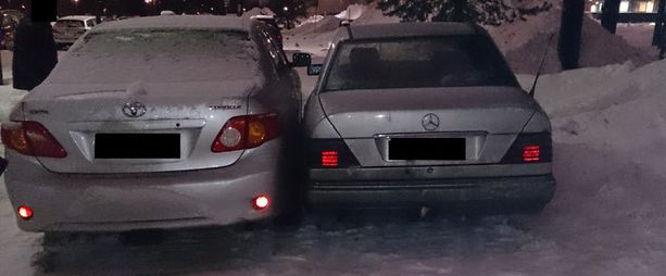 Tätä tilannetta ratkotiin parkkipaikalla Oulussa.