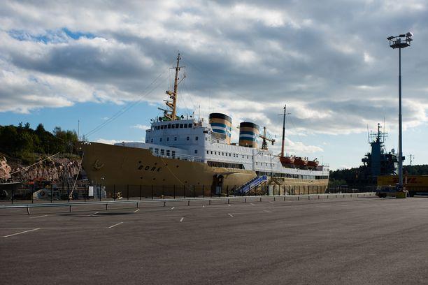 Laivahostelli Bore henkii vanhan ajan merellistä tunnelmaa.