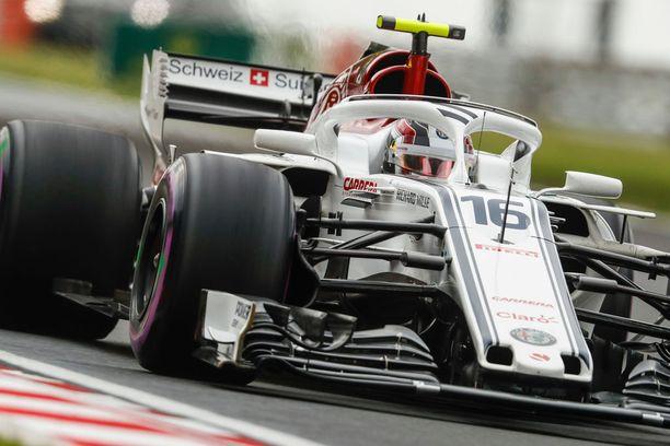 Leclerc ajaa tällä hetkellä Sauberilla.