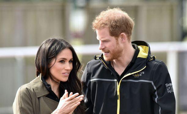 Meghan Markle ja prinssi Harry vihitään ensi kuussa.