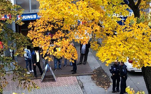 Ulkomaalaisryhmien välinen joukkotappelu Porin keskustassa – Poliisi rauhoitti tilanteen usean partion voimin