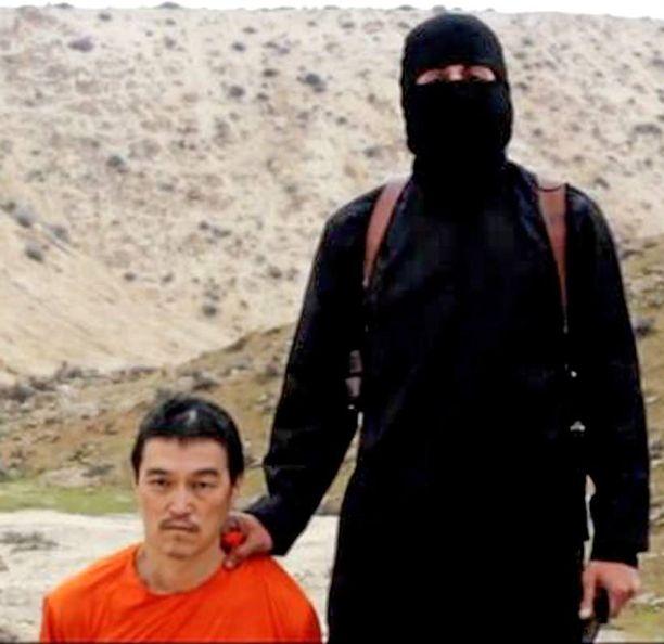 Kenji Goton mestausvideolla esiintyvä naamiomies ei todennäköisesti ole Jihadi-John.
