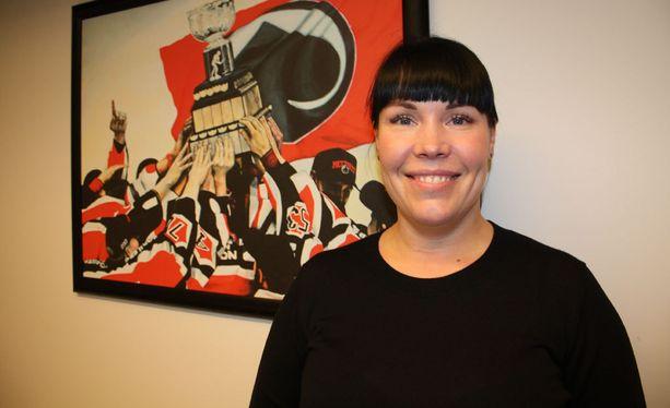 Eeva Perttula ehti toimia Ässien toimitusjohtajana vajaat kaksi vuotta.