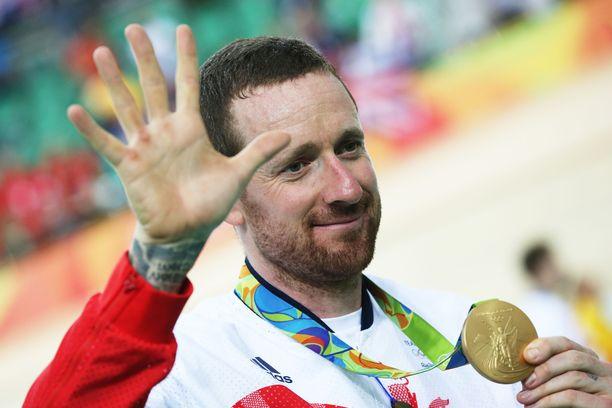 Sir Bradley Wiggins on moninkertainen olympiavoittaja.