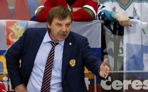 Venäjän päävalmentaja syrjään MM-finaalista - katso video törkeästä eleestä!