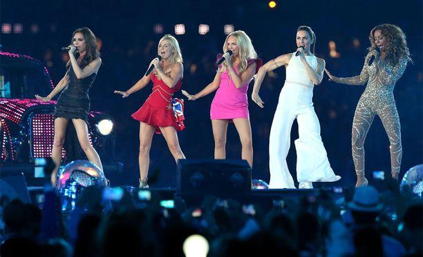 Spice Girls esiintyi yhdessä vuoden 2012 Lontoon olympialaisissa.