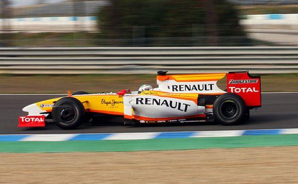 Renault testasi vielä joulukuun alussa Jerezissä normaalisti.