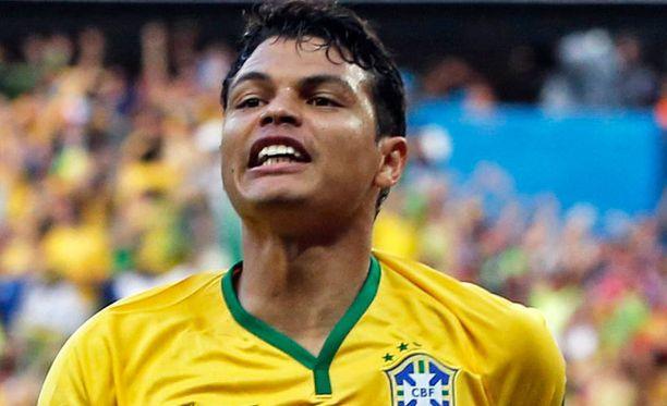 Thiago Silva on Brasilian puolustuksen tukiranka.