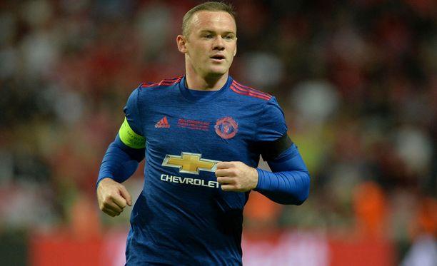 Wayne Rooney pelasi viimeiset minuutit Eurooppa-liigan loppuottelussa keskiviikkoiltana.