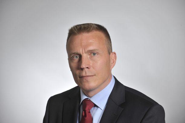 Kokoomuksen eduskuntaryhmän varapuheenjohtaja Jukka Kopra.
