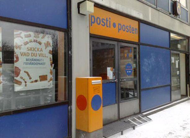 Oma posti palvelee olarilaisia toistaiseksi Kuitinmäen ostoskeskuksessa.
