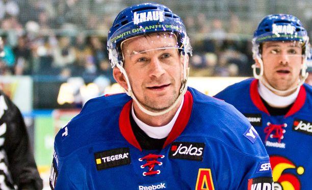 Antti-Jussi Niemi päätti peliuransa.