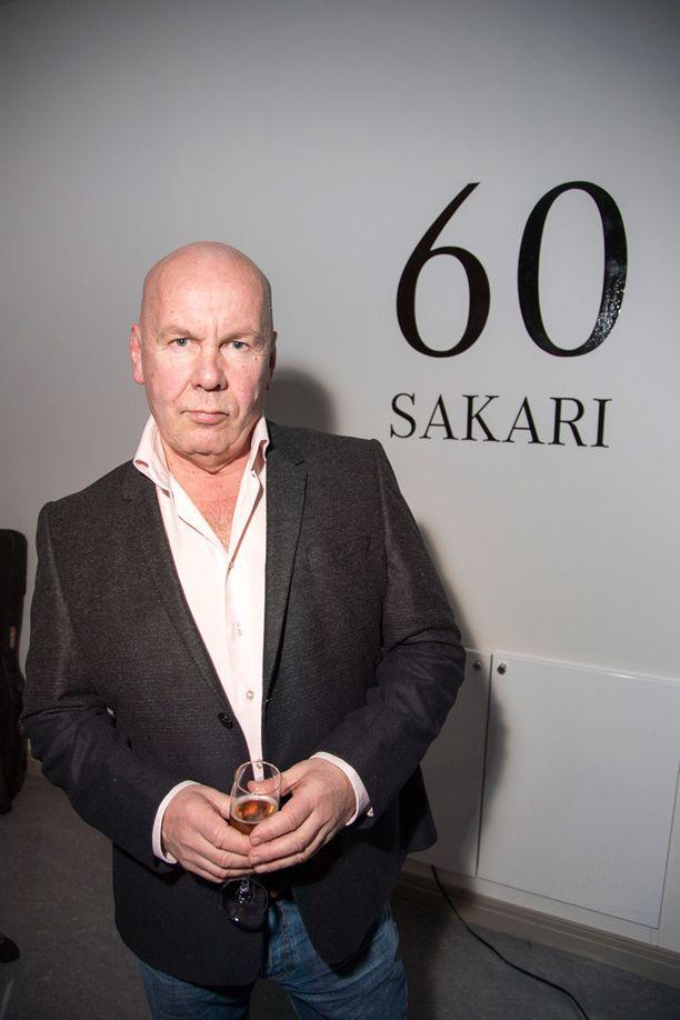 Juhlakalu Sakari Timonen juhli pyöreitä Porvoossa.