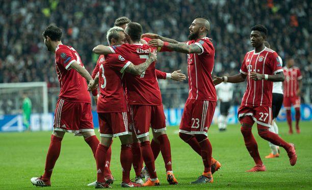 Bayern München juhli Istanbulissa.