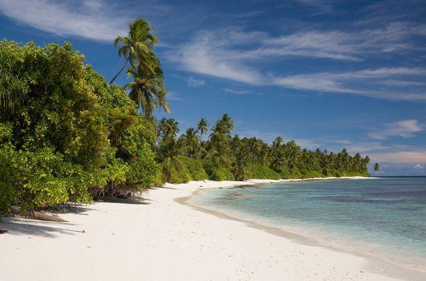 Näissä maisemissa kelpasi levätä kuvausten välissä! Rogue One -elokuvaa filmattiin Malediiveilla.