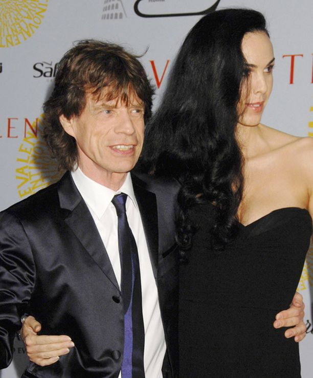 Morsian L'Wren Scott on henkistänyt Mick Jaggeria.