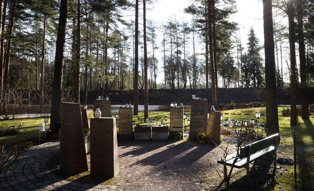 Koristevaras piinaa hautausmaita Itä-Uudellamaalla. Kuva Honkanummen hautausmaalta Vantaalta.