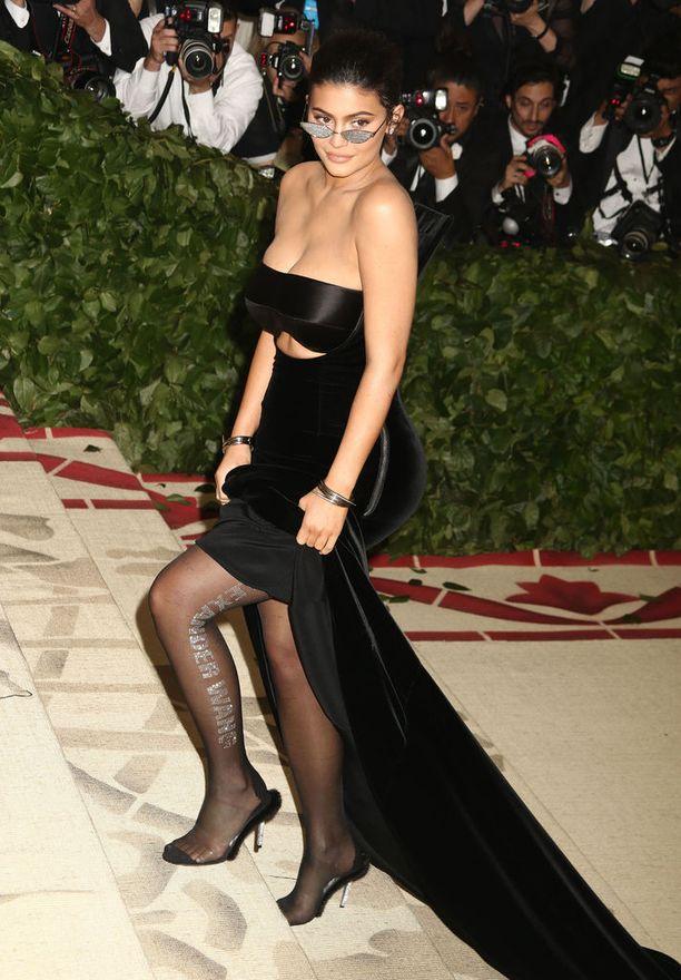 Kylie Jenner tuli tunnetuksi jo lapsena E! Rikkaat Kardashianit -ohjelman myötä.