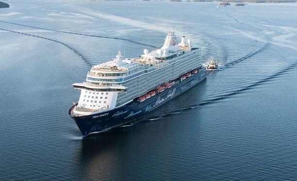 Mein Schiff 4 -loistoristeilijä on TUI Cruises -varustamon ylpeys.
