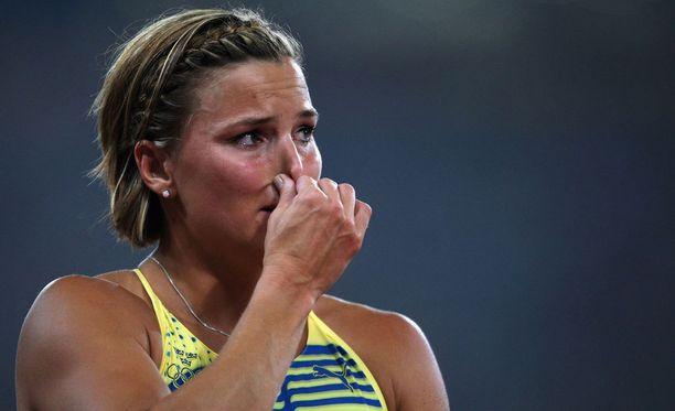 Susanna Kallur voitti pika-aidoissa EM-kultaa Göteborgissa 2006.