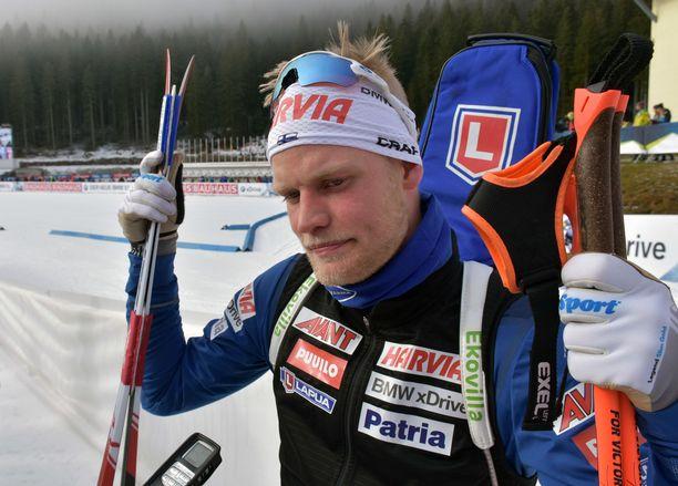 Tuomas Grönman oli paras suomalainen Pokljukan pikamatkalla.