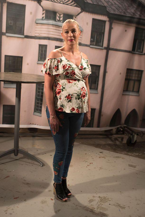 Monika Lindeman jää pian äitiyslomalle.
