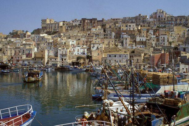 Grande Hotel de Calogero sijaitsee idyllisessä Sciaccan kaupungissa Sisiliassa.