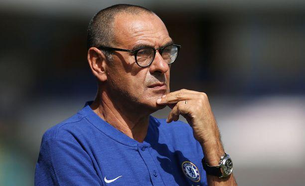 Manageri Maurizio Sarrin Chelsea aloitti Valioliigassa voittoisasti.