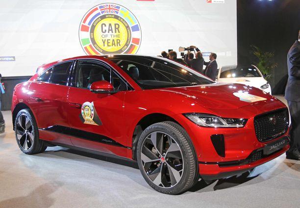 Vuoden autoksi Euroopassa valittiin täyssähköauto Jaguar i-Pace.